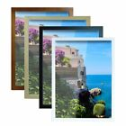Solid Wood Picture Frame Photo Frame Poster Frame Coffee Oak White Various Sizes