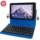 "2 in 1 Tablet Laptop 7"" Screen 16GB Quad Core Processor Android Keyboard USB"