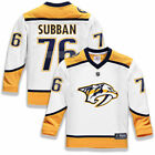 PK Subban Nashville Predators Youth White Replica Player Jersey