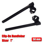 "CNC 7/8"" 50mm 1"" Raised Clip-On Handlebars for Triumph Speed Triple Daytona 675R $31.99 USD on eBay"