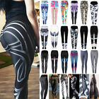Women Sports YOGA Running Gym Fitness Leggings Push-Up Pants Athletic Trousers