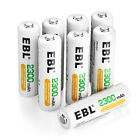 EBL AA AAA NI-MH Rechargeable Batteries 1.2V Battery For Camera Flashlight USA