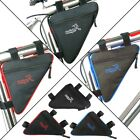 Triangle Shape Cycling Bike Pouch Bag Holder Waterproof Bicycle Pannier Frame US