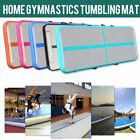 Air Track Floor Home Gymnastics Tumbling Yoga Mat Inflatable Airtrack GYM MAX image