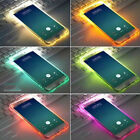 LED Flash Light Up Soft TPU Remind Incoming Call Cover Case For iPhone X 8 6 7