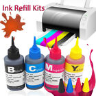100ml Universal Color Ink Cartridge Refill Kit for HP & Canon Series Printers JK