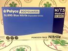Bodyguards Blue Nitrile Disposable Gloves box of 100,200,1000