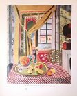 "Matisse Art Print Bookplate INTERIORS 9.5"" x 12"" ** SEE VARIETY"