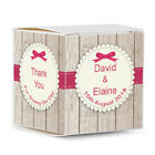 *NEW* Personalised Favour Boxes, 100s Designs or Add Your Own Photo. Free Post.