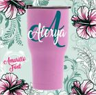 Personalized Name & Initial Monogram Vinyl Decal For Your Cu