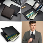 Elegant Male Men Leather Wallet ID Card Coin Holder Purse High Quality Business