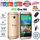 New HTC One M8 32GB Unlocked SIM Free Smartphone Android Mobile Phone Quad-Core