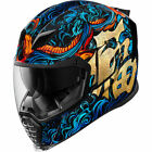 2019 Icon Airflite Full Face DOT Motorcycle Helmet Pick Size  Graphic