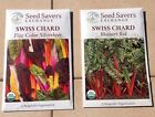 Swiss Chard Seeds - Organic Heirlooms - Open Pollinated Non Gmo - 100 SEEDS