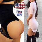 Women High Waist Briefs Body Shaper Control Slim Tummy Booty Butt Lifter Panty