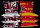 Kansas City Chiefs St  Louis Cardinals Set of 8 Cornhole Bean Bags FREE SHIPPING on eBay