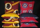Washington Redskins Nationals Set of 8 Cornhole Bean Bags FREE SHIPPING $25.99 USD on eBay