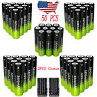 100* 3.7v 18650 Rechargeable Li-ion Battery For LED Flashlight*Dual Charger 2018