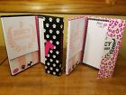 NWT Juicy Couture Magnetic Hardcover Notepad Variety Book - Great Holiday Gift
