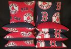 Boston Red Sox Set of 8 Cornhole Bean Bags FREE SHIPPING on Ebay