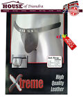 Xtreme Quality Men Gay Real Leather Jock Strap G-string Brief Pouch Underwear