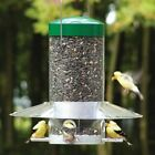 Birds Choice Hanging Bird Feeder with Baffle/Weather Guard