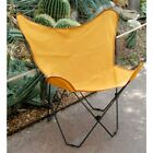 Algoma Classic Butterfly Chair-Sunny Gold Cotton