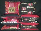 San Francisco 49ers Set of 8 Cornhole Bean Bags FREE SHIPPING