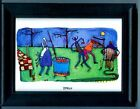 ZYDECO - CAJUN ART BY MATT RINARD FRAMED