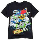 NWT Disney Store Toy Story Buzz Lightyear Infinity or Bust Tee T-Shirt Shirt 5 6