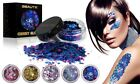 Chunky Mixed Glitter Pot Nail Art Face Eye Body Tattoo Party Makeup DIY Craft