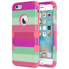 """iPhone 6s 6 Plus 5.5"""" Case ULAK 3in1 Hybrid Shockproof Color"""