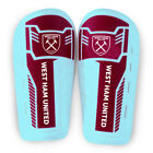 WEST HAM UNITED FC SLIP ON SHINGUARD SHIN GUARDS PADS YOUTH BOYS NEW XMAS GIFT