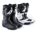 Spyke SP-013 Sports Motorcycle Armour Boots Motorbike Leather Shoes Protection