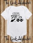 Chicks Dig Me -Funny Baby Clothes -Hipster Baby-Shower-Gift-Boy Girl-Trucks -Lad