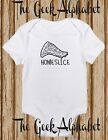 Home Slice Baby Bodysuit- Funny Clothes -Gift-Shower-Unisex-Baby Clothes-Pizza