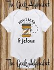 Don't Be So Peanut Butter and Jealous! Funny Baby Clothes Humour Newborn Jelly