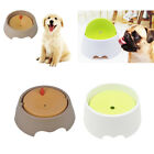 Pet Bowl No Spill Dog Cat Pet Supply Dish Feeder Splash Proof Design Green/Brown