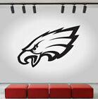 Philadelphia Eagles Logo Wall Decal Sport Sticker Decor Black Vinyl NFL CG408 on eBay