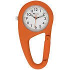 Carabiner Clip-on Belt Watch. Gift Boxed, Black Silver Blue, Orange, Paramedics