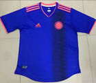colombia football shirt - New 2017-18 Colombia away soccer jersey T-Shirt football shirt Size:S-XL