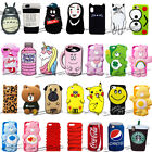 2018 New 3D Animal Cartoon Cute Silicone Phone Case For iPhone X 5 6s 7 8 Plus $4.65  on eBay