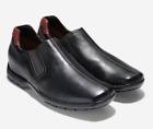 New Cole Haan ZENO Slip-On Men's Leather Black Brown Casual Shoes PICK SIZE