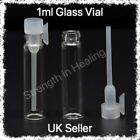 1ml Empty Sample Glass Vial For Perfume, Attar Samples. With a Free Pipette