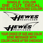 (2x)-hewes Redfisher Boats Die Cut Vinyl Decal Truck Boat Sticker Reproduction