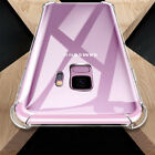For Samsung Galaxy A6 Plus 2018 A8+ S9+ Airbag TPU Shockproof Clear Case Cover