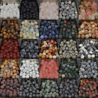 Внешний вид - Natural Matte Frosted Gems Round Loose Unpolished Stone Beads 4mm 6mm 8mm 10mm