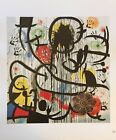 """Vintage Joan Miro Art Print 9.5"""" x 11"""" Offset Lithograph OOP *** SEE VARIETY"""