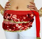 sale! HAND MADE BELLY DANCE BELTS HIP SCARF LIKE FISH SCALES