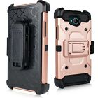 ZTE TEMPO N9131 / Majesty Pro Z798BL Duo Defense Rugged Holster Armor Combo Case